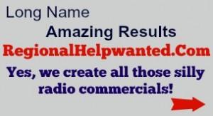Regional Help Wanted