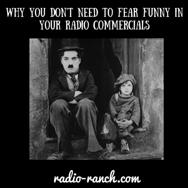Why you DON'T Need to Fear Funny in Your Radio Commercials