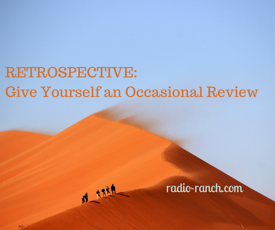 RETROSPECTIVE: Give Yourself an Occasional Review