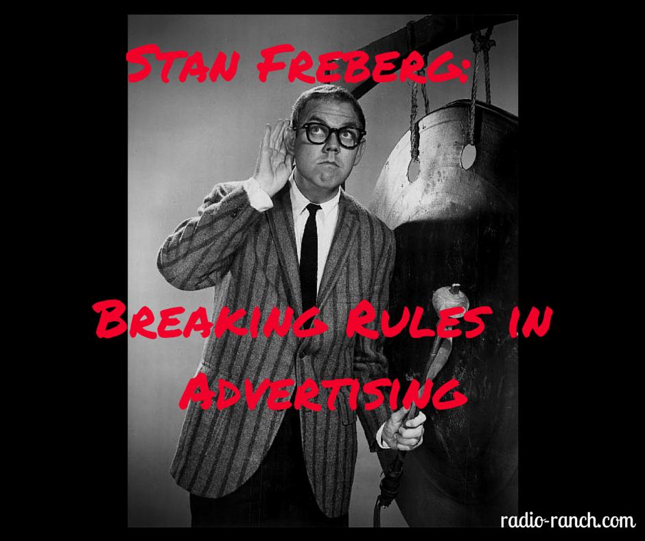 Stan Freberg: Breaking Rules in Advertising